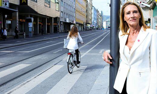 Neos-Gemeinderätin Sabine Reininghaus