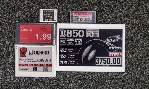 Gefragt: Smarte Preisschilder von SES-imagotag
