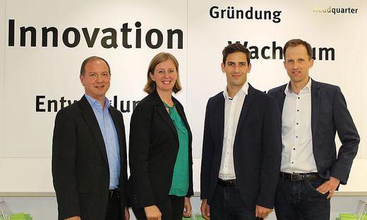 Wilhelm Kaufmann, Barbara Eibinger-Miedl, Martin Buchsbaum und Andreas Lackner