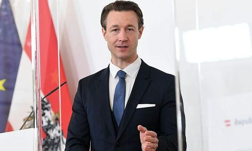 Finanzminister Gernot Blümel (ÖVP)