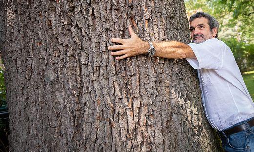 Wolfgang Windisch kämpft um den Grünraum in der Stadt