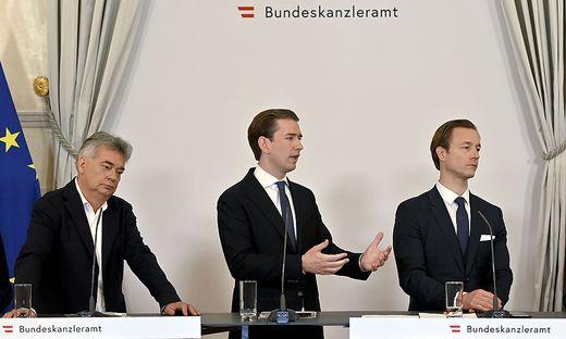 Die Ermittlungen gegen Bundeskanzler Sebastian Kurz drohen die Regierung in eine Krise zu stürzen.
