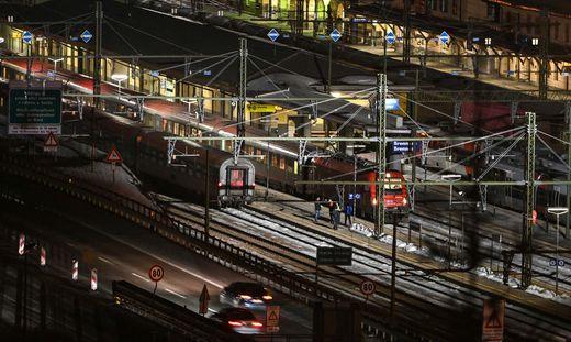 Der Bahnverkehr über den Brenner wurde komplett eingestellt