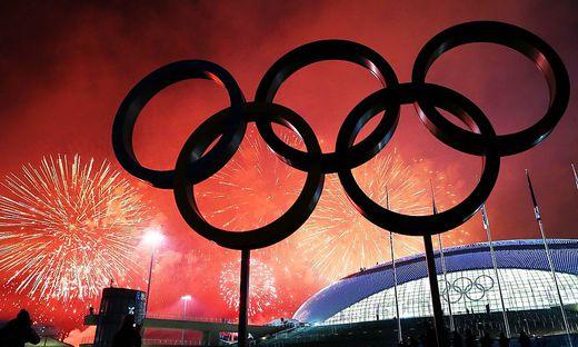 OLYMPIA - Olympische Spiele 2014, Abschlusszeremonie