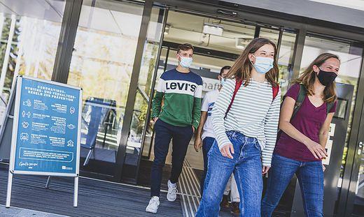 Reportage Studieren mit Corona-Regeln Universitaet Klagenfurt September 2020