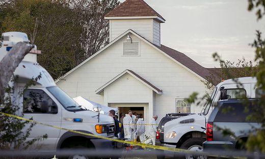 Der Tatort: Die Kirche in Sutherland Springs