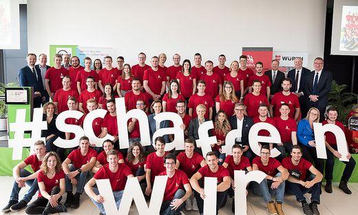 Kick-off zu EuroSkills 2020: Das österreichische Nationalteam stellt sich vor