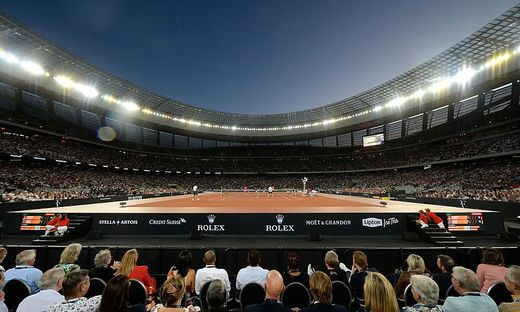 TENNIS-RSA-MATCH IN AFRICA
