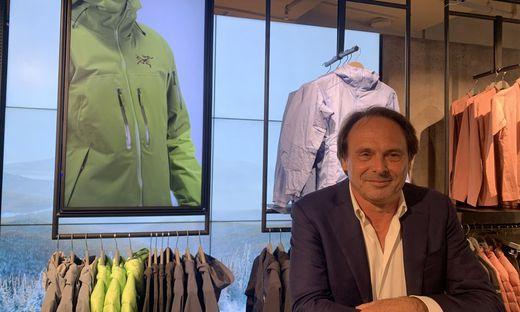 """Steffl-Geschäftsführer Freddy Schmid reagiert mit dem neu eröffneten """"Steffl Sports"""" auf die veränderte Marktlage und die Rückgänge durch Corona"""