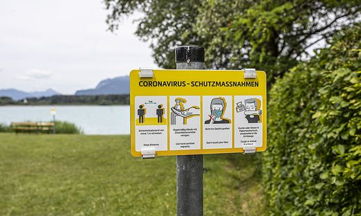 Am Gartenweg am Faaker See gibt es den öffentlichen freien Seezugang bereits