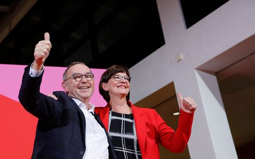 GERMANY-POLITICS-SPD-PARTIES-VOTE-GOVERNMENT