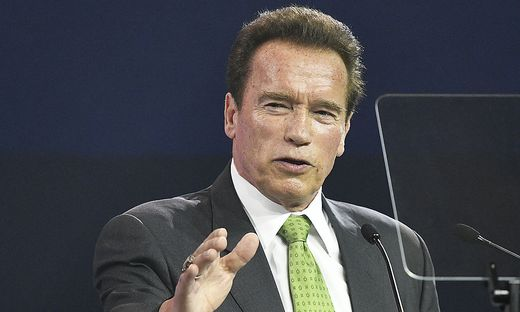 R20 AUSTRIAN WORLD SUMMIT: SCHWARZENEGGER