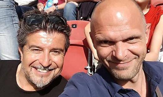 Beruflich und privat waren Stefan Sandrieser (links) und Robert Klinglmair bisher oft gemeinsam zu sehen.