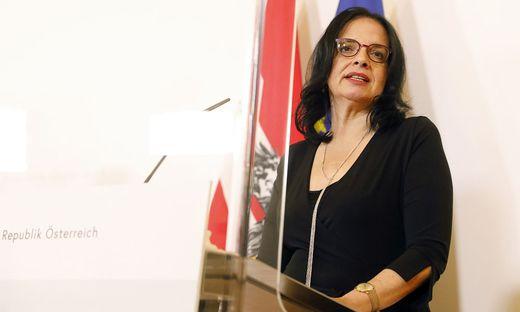 Kunst- und Kulturstaatssekretärin Andrea Mayer