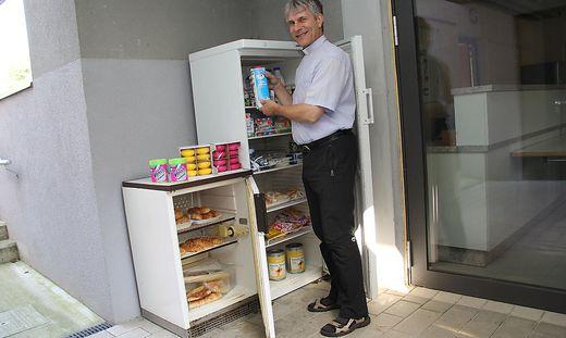 Kleiner Kühlschrank Willhaben : St stefan ein offener kühlschrank für alle « kleinezeitung at