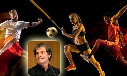 Symbolfoto der Athleten - Thomas Brandauer kennt seine Athleten ganz genau