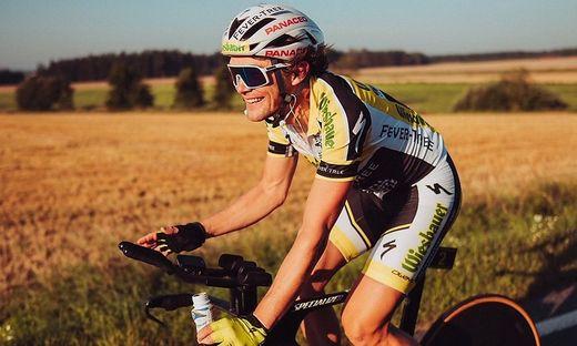 Hat stets ein Lächeln auf den Lippen: Extrem-Radsportler Christoph Strasser