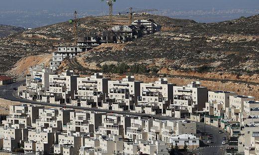 USA schlagen sich bei Siedlungen auf die Seite Israels