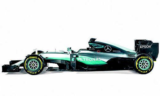 Der W07 ist die Evolution des Boliden, der Mercedes  2015 zum Weltmeister machte