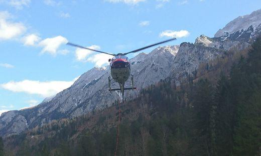 Der Suchtrupp fand den Vermissten am Hochstadl auf 1700 Meter tot auf