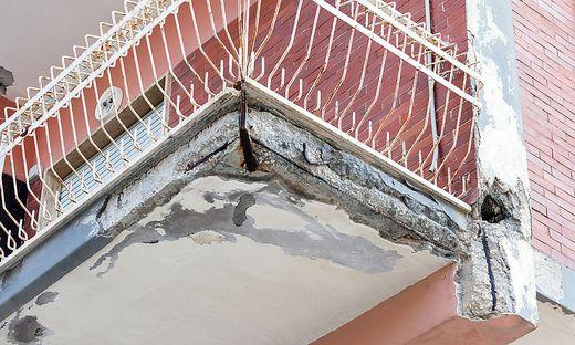 Wie kann man die Sanierung des Balkons (Sujetbild) durchsetzen?