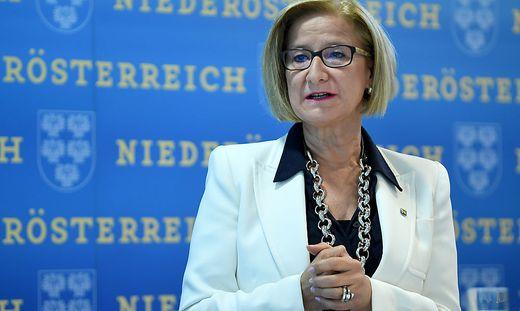 Niederösterreichs Landeshautfrau Johanna Mikl-Leitner