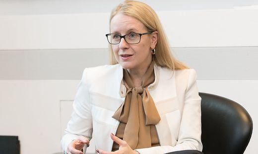 Margarete Schramböck, Ministerin für Digitalisierung nund Wirtschfatsstandort (ÖVP)