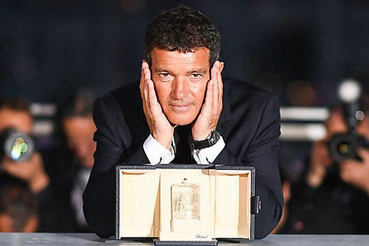 Antonio Banderas in Cannes