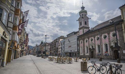 Innsbruck am 21. März 2020