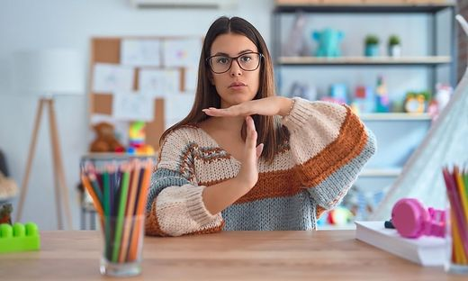 Große Anforderungen bestehen an Lehrer, die in Time-out-Gruppen unterrichten. Sie haben es mit großen sozialen Defiziten zu tun