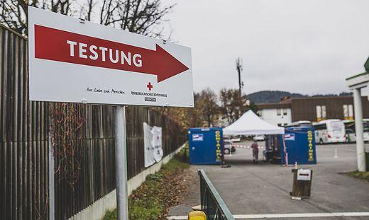 Die Verdachtsfall-Testungen bei den Teststraßen sind zurückgegangen