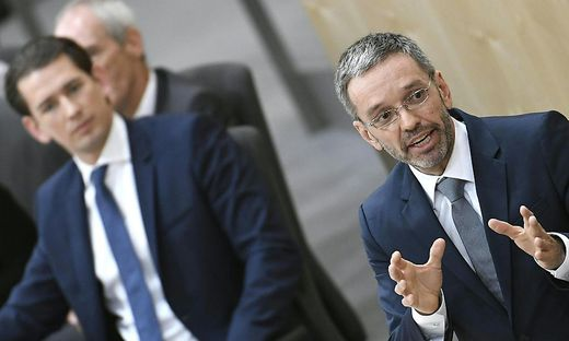 Österreichs Ex-Kanzler Kurz will kein FPÖ-Mitglied mehr im Innenministerium