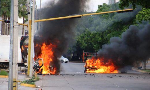 Mexikanische Stadt Culiacan sechs Stunden lang im Ausnahmezustand