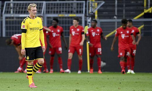 Bayern feiert in Dortmund