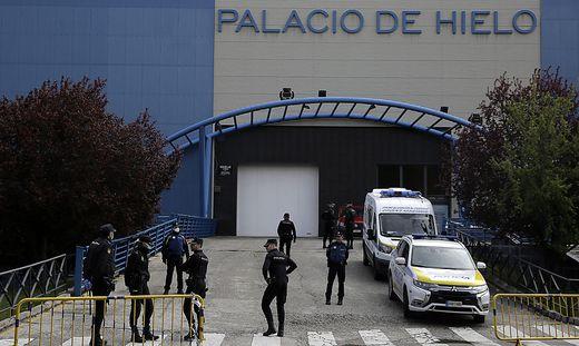 Die Eishalle von Madrid