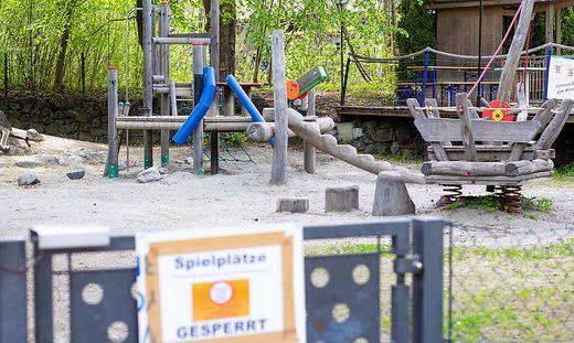 Ab 1. Mai sind Spielplätze in Klagenfurt und Villach wieder offen