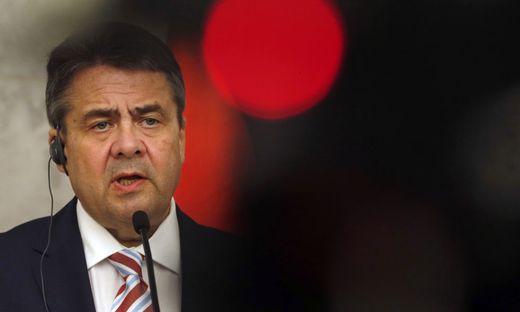 Deutschlands Außenminister Sigmar Gabriel