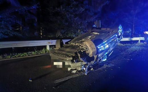 Zum Glück wurde bei dem Unfall niemand verletzt