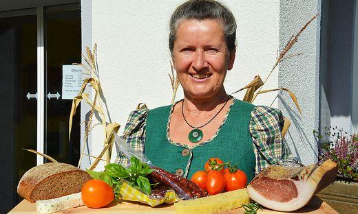 Nockfleisch-Schriftführerin Margarethe Puschitz