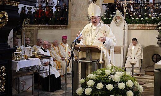 """Bischof Schwarz im Gurker Dom: """"Fromme Leute bleiben in Erinnerung"""""""