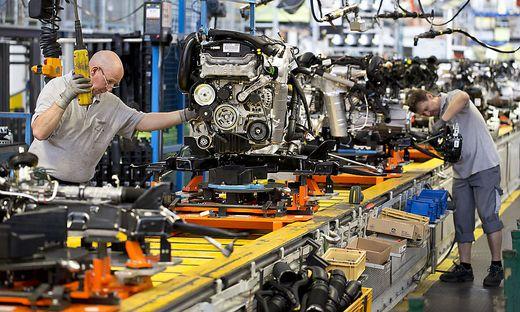 Sujetbild der Autoindustrie