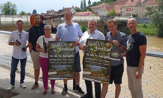 """Zwischen Tieschen, Bad Radkersburg und Murfeld geht es in der kommenden Woche im Rahmen des ersten """"Glamur Festivals"""" rund."""