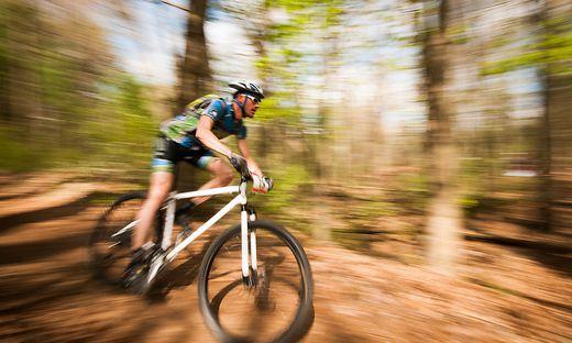 Der Mountainbiker war nach dem Sturz bewusstlos