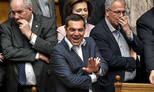 GREECE-POLITICS-PARLIAMENT