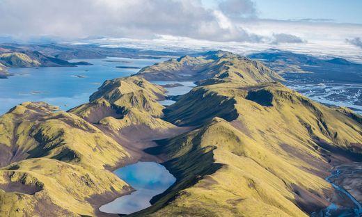 Multimediashow über das sagenhafte Island