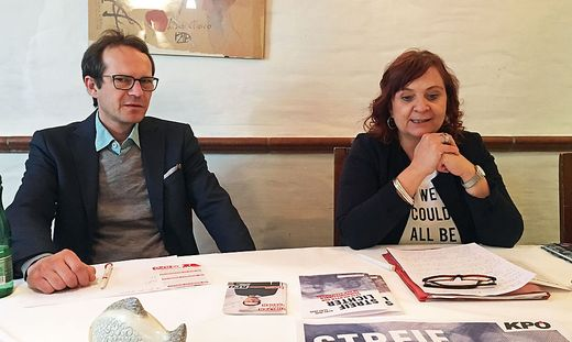 Clemens Perteneder und Claudia Klimt-Weithaler