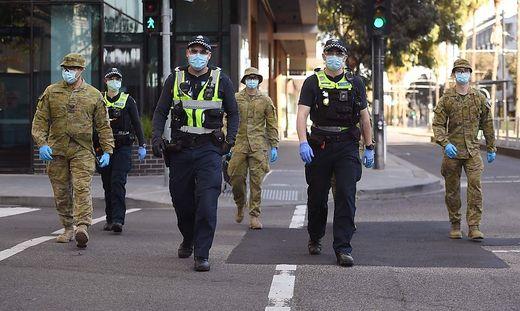 Melbourne muss wegen Corona wieder alles herunterfahren