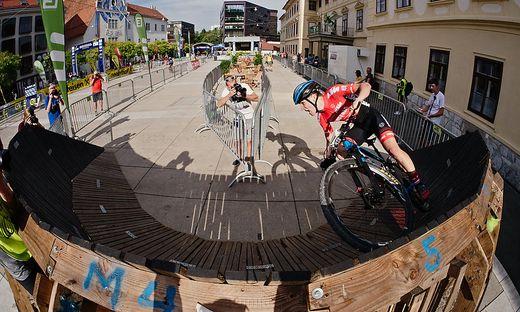 Franz-Josef Lässer ist ein begnadeter Radfahrer