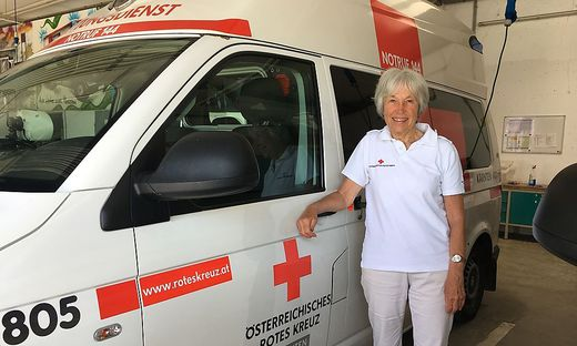 Ehrengard Kraze liegt die Arbeit für das Rote Kreuz sehr am Herzen