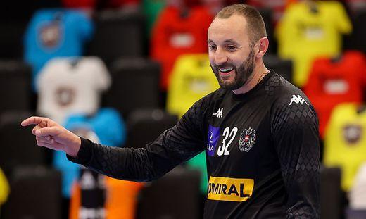 Seit 10 Jahren in Hard, seit kurzem auch im Nationalteam: Golub Doknic (39)